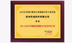 中国制造业数据安全优秀应用方案