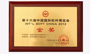 第十六届中国国际软件博览会金奖